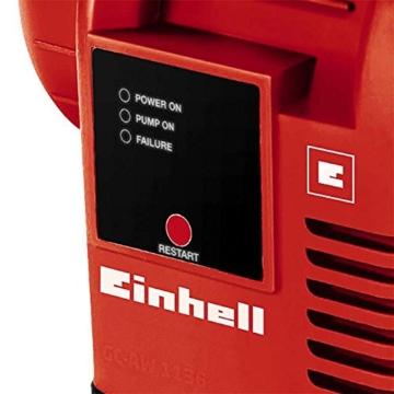 Einhell Hauswasserautomat GC-AW 9036 (900W, 4,3 bar Druck, 3600 l/h Fördermenge, Vorfilter, Rückschlagventil, autom. Durchflussschalter mit LED-Anz.) - 2