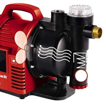 Einhell Hauswasserautomat GC-AW 9036 (900W, 4,3 bar Druck, 3600 l/h Fördermenge, Vorfilter, Rückschlagventil, autom. Durchflussschalter mit LED-Anz.) - 4