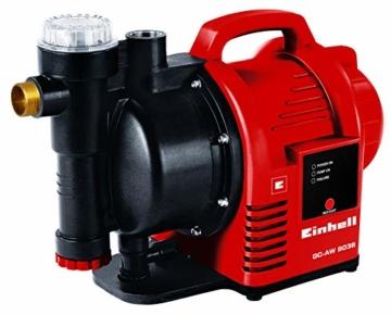 Einhell Hauswasserautomat GC-AW 9036 (900W, 4,3 bar Druck, 3600 l/h Fördermenge, Vorfilter, Rückschlagventil, autom. Durchflussschalter mit LED-Anz.) - 1