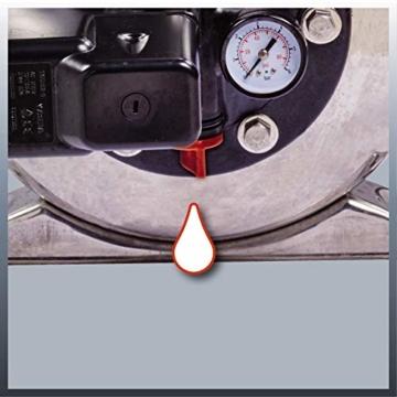 Einhell Hauswasserwerk GC-WW 1250 NN (1200 W, max. 5 bar, 5000 L/h Fördermenge, max. 50 m Förderhöhe, wartungsfreier Motor, Wasserablassschraube, 20 L Edelstahldruckkessel) - 3