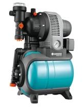 Gardena Classic Hauswasserwerk 3000/4 eco: Hauswasserpumpe mit Thermoschutzschalter, Rückschlagventil, Start/Stop Automatik, 650W Leistung, max. Fördermenge 2800 l/h (1753-20) - 1