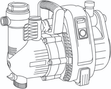 Gardena Comfort Gartenpumpe 5000/5: Bewässerungspumpe mit 5000 l/h Fördermenge und langer Lebensdauer, Leistung 1300 W, hochwertig, geräuscharm, automatische Sicherheitsabschaltung (1734-20) - 7