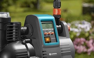 Gardena Comfort Hauswasserautomat 5000/5E LCD: Hauswasserpumpe mit LC-Display, energiesparend, Fördermenge 5000 l/h, 1300W Motor mit Thermoschutzschalter, Trockenlaufsicherung (1759-20) - 8