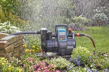 Gardena Comfort Hauswasserautomat 5000/5E LCD: Hauswasserpumpe mit LC-Display, energiesparend, Fördermenge 5000 l/h, 1300W Motor mit Thermoschutzschalter, Trockenlaufsicherung (1759-20) - 9