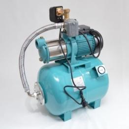 Hauswasserwerk 50 Liter 5-stufige Pumpe MHi1800 9000l/h Trockenlaufschutz SK-13 - 1