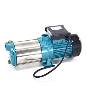 Hauswasserwerk 50L m. 1300W INOX Pumpe + Trockenlaufschutz Hauswasserautomat - 2