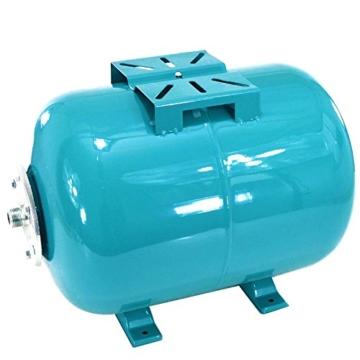 Hauswasserwerk 50L m. 1300W INOX Pumpe + Trockenlaufschutz Hauswasserautomat - 5