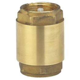 Gardena Messing-Zwischenventil: Rückschlagventil aus Vollmessing, 33.3 mm (G 1 Zoll)-Gewinde, z.B. zum Anschluss an Pumpen (7231-20) - 1