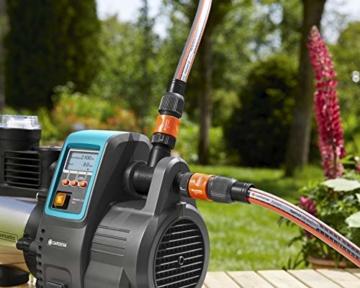 Gardena Premium Hauswasserautomat 6000/6E LCD Inox: Hauswasserpumpe mit 6000 l/h Fördermenge, 1300 W Motor, mit LC-Display, Pumpengehäuse aus rostfreiem hochwertigem Edelstahl (1760-20) - 5