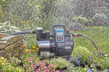 Gardena Premium Hauswasserautomat 6000/6E LCD Inox: Hauswasserpumpe mit 6000 l/h Fördermenge, 1300 W Motor, mit LC-Display, Pumpengehäuse aus rostfreiem hochwertigem Edelstahl (1760-20) - 7